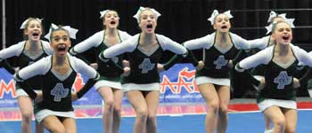 Girls Competitive Cheer